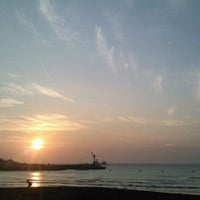 Photo taken at Iho Taewu Beach by HAE RAN K. on 8/29/2011
