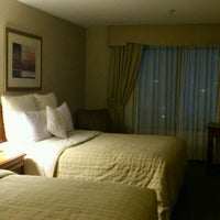 Photo taken at Four Points by Sheraton Hotel & Suites San Francisco Airport by こちとら H. on 1/23/2012