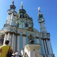 Снимок сделан в Андреевская церковь пользователем Alexander I. 6/17/2012