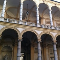 Photo taken at Palazzo Lionello Venturi by Massimo D. on 12/13/2011