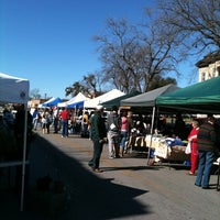 Photo taken at SMTX Saturday Farmers Market At The Square by Lindsay B. on 1/14/2012