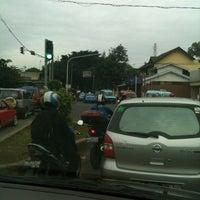 Photo taken at Perempatan Jalan Swadaya by Lucky A. on 1/24/2011