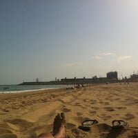 Photo taken at Platja del Miracle by Daniel G. on 5/12/2012