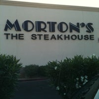 Photo taken at Morton's The Steakhouse by Jimmie W. on 5/6/2011
