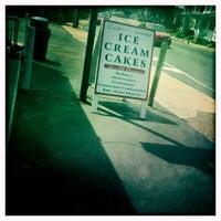 Photo taken at Custard & Cakes Creamery by Tasha E. on 4/14/2012