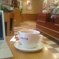 Photo taken at Costa Coffee by Alexey Z. on 12/30/2010