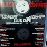 Photo taken at Club Cafe by Vince C. on 12/19/2011