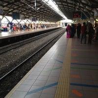 Photo taken at KTM Line - Mid Valley Station (KB01) by Koyok J. on 7/4/2012