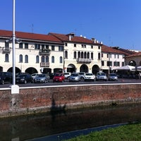Photo taken at Piazza Giorgione by Marco B. on 9/10/2011