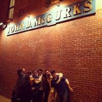 Photo taken at John D. McGurk's Irish Pub by Erin M. on 4/22/2012