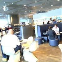 Photo taken at Lufthansa Business Lounge A (Schengen) by Fred C. on 11/28/2011