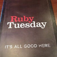 Photo taken at Ruby Tuesday by Joy S. on 7/29/2012