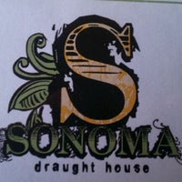 Photo taken at Sonoma Draught House by Nick R. on 10/23/2011