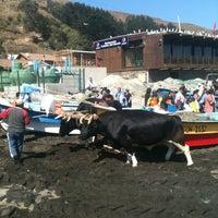 Photo taken at Caleta Duao by Rodolfo D. on 3/10/2012