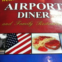 Photo taken at Airport Diner by Courtney A. on 12/21/2011
