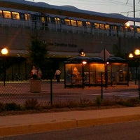 Photo taken at New Carrollton Metro Station by Tarryn 💕 on 7/16/2011