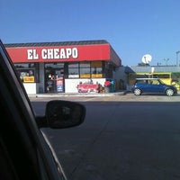 Photo taken at El Cheapo by Barry E. on 10/26/2011