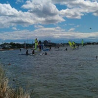 Photo taken at Windsurf Spot Éole by Alexandre W. on 7/13/2011
