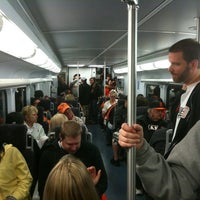 Photo taken at Caltrain Giants Post-game Express by Jason G. on 7/24/2011