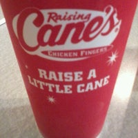 Photo taken at Raising Cane's Chicken Fingers by Mark C. on 12/21/2011