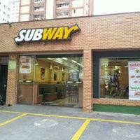 Photo taken at Subway by Bruno C. on 1/11/2012