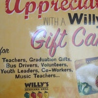 Photo taken at Willy's Mexicana Grill #22 by Kayla B. on 5/31/2012