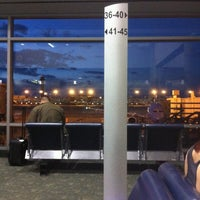 Photo taken at Concourse A by Wes W. on 4/22/2012
