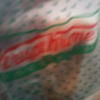 Photo taken at Krispy Kreme Doughnuts by Bonnie B. on 7/13/2012
