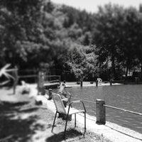 Photo taken at Ristorante Lago lo Specchio Spedaletto by Giammarco C. on 7/8/2012
