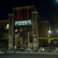 Photo taken at Firebirds Wood Fired Grill by Denise A. on 10/12/2011