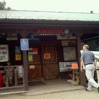 Photo taken at Bob's Gun & Tackle Shop by Tiffany S. on 8/27/2011