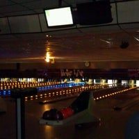 Photo taken at Strikers Lanes by Lindsey S. on 12/31/2011