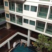 Photo taken at Sunshine Hotel & Residences by Kenyon M. on 8/18/2012