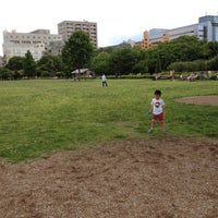 Photo taken at Kiba Park by Hiromitsu S. on 6/10/2012