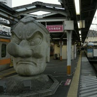 Photo taken at Takao Station by Satoshi F. on 12/29/2011