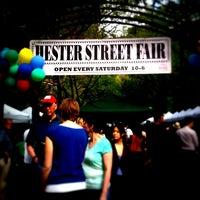 Photo taken at Hester Street Fair by cynthia w. on 5/7/2011