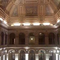 Photo taken at Palais Brongniart (Ancienne Bourse de Paris) by E A. on 12/22/2010