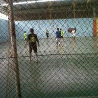 Photo taken at Mayasari Futsal by jemi shukaa s. on 9/13/2011