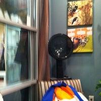 Photo taken at Sola Salon & Spa by Matthew L. on 1/14/2012