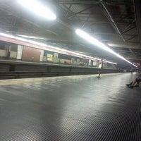 Photo taken at Estação Pedro II (Metrô) by Davi S. on 3/10/2012