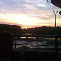 Photo taken at River's Edge Bar & Grill by Justin B. on 8/13/2012