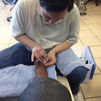 Photo taken at Beverly Hills Nails by LaCrissa S. on 7/18/2012
