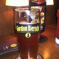 Photo taken at Gordon Biersch Brewery Restaurant by Shelby T. on 1/15/2012
