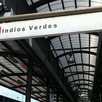 Photo taken at Metrobús  Indios Verdes by carlos r. on 10/19/2011