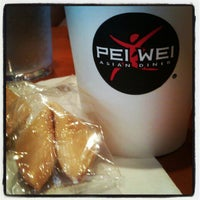 Photo taken at Pei Wei by katie g. on 6/13/2012