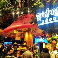 Photo taken at Rainforest Cafe by Andeh C. on 12/27/2011