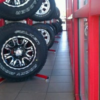 Photo taken at Discount Tire® Store by Lauren M. on 9/13/2011