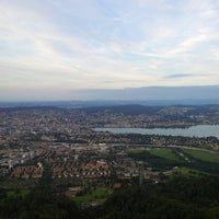Photo taken at Uetliberg Aussichtsturm by Omar A. on 8/16/2012