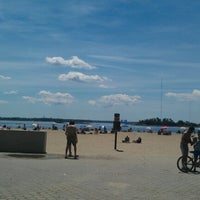 Photo taken at Orchard Beach by Benny A. on 6/24/2012