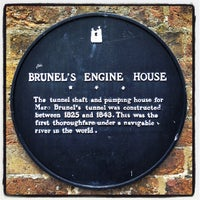 Photo taken at Brunel Museum by Soapy J. on 4/12/2012